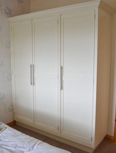 Deanery Shaker Style 3 Door Wardrobe
