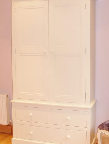 Deanery Heritage Double Wardrobe with hand-painted finish