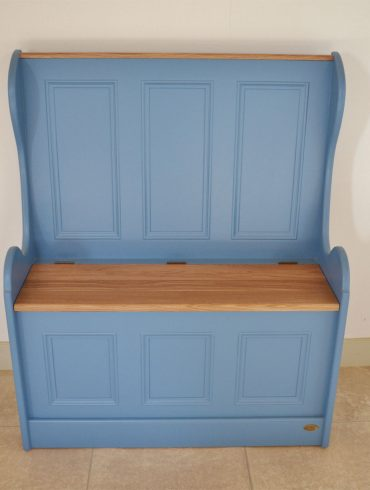 Deanery Monks Bench with Boot Storage