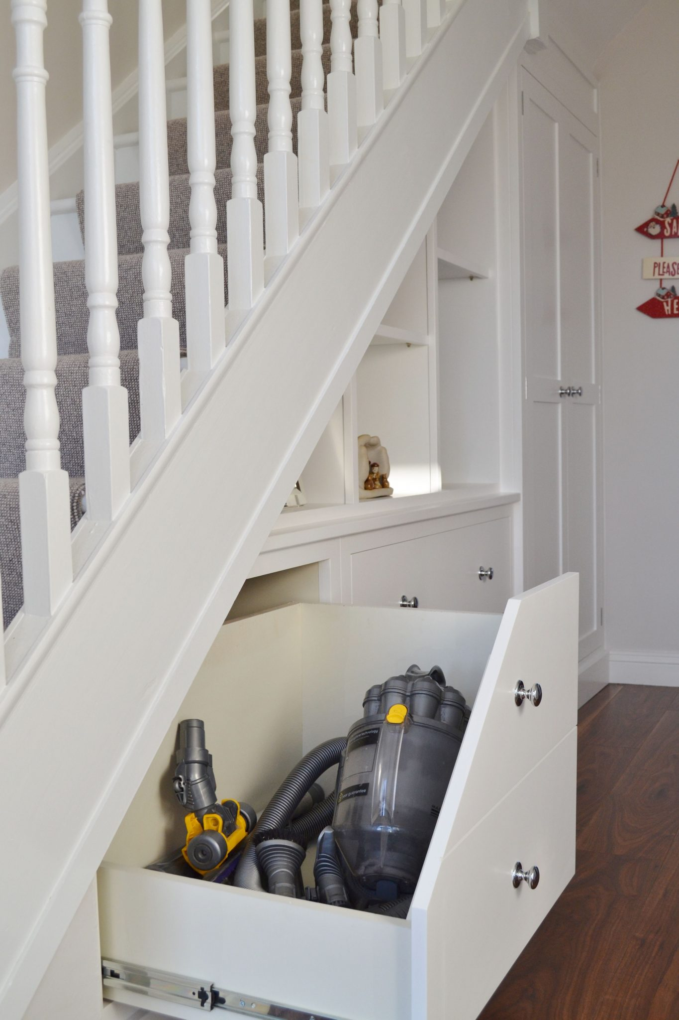 Fitted Furniture Under Stair Storage Deanery Furniture