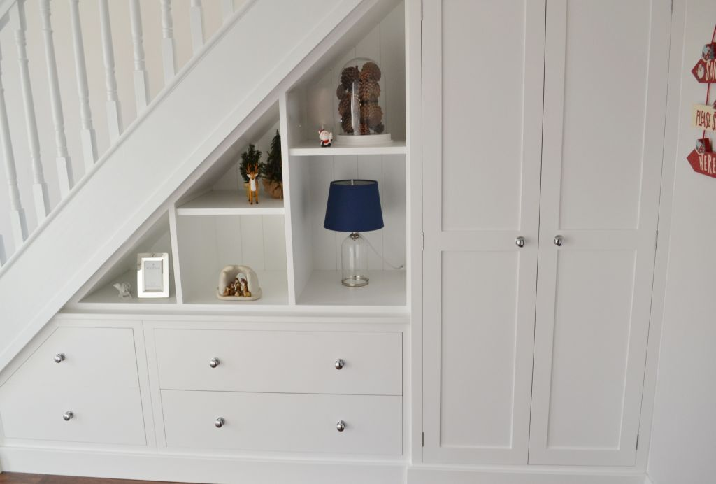 Bespoke Under Stairs Shelving: Understairs Storage By Deanery Furniture